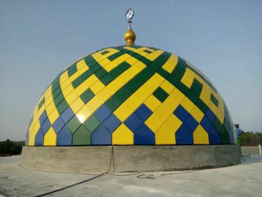 Cara Desain Kubah Masjid Enamel