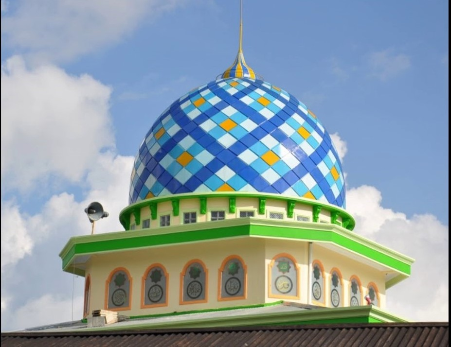 Jasa Kontraktor Kubah Masjid Enamel